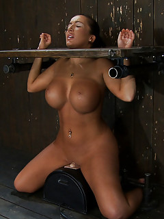 Huge Boobs in BDSM Pics